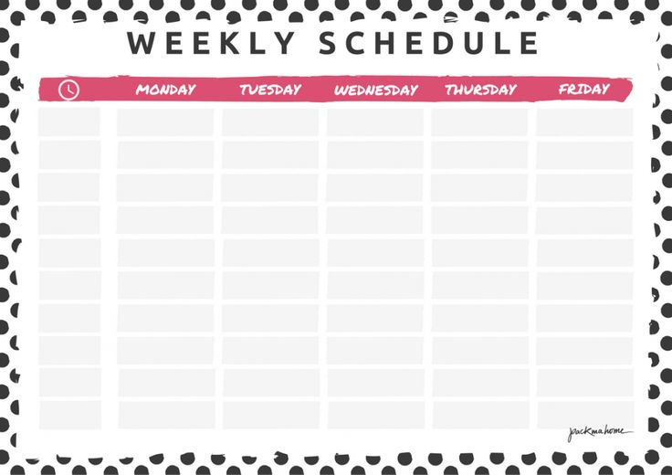 BIG ANNOUNCEMENT + WEEKLY PLANNER & SCHEDULE - FREEBIES - packmahome