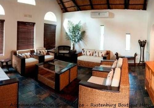 Lounge at Rustenburg Boutique Hotel. http://www.accommodation-in-southafrica.co.za/NorthWest/Rustenburg/RustenburgBoutiqueHotel.aspx