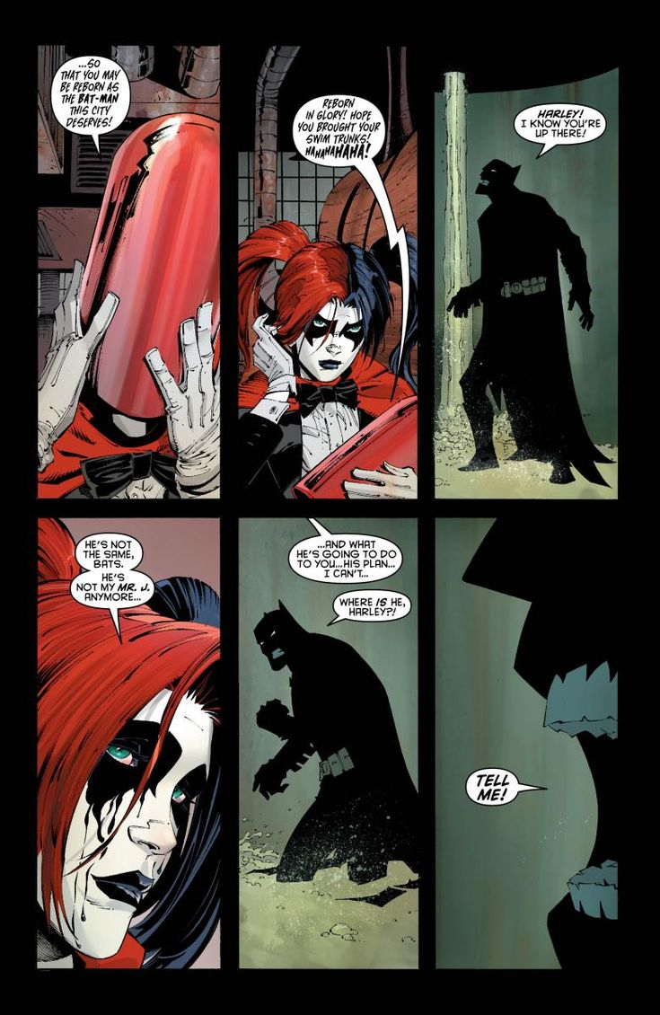 Harley Quinn New 52 Origin | Why else? To trick, delay and distract Batman while the Joker himself ...