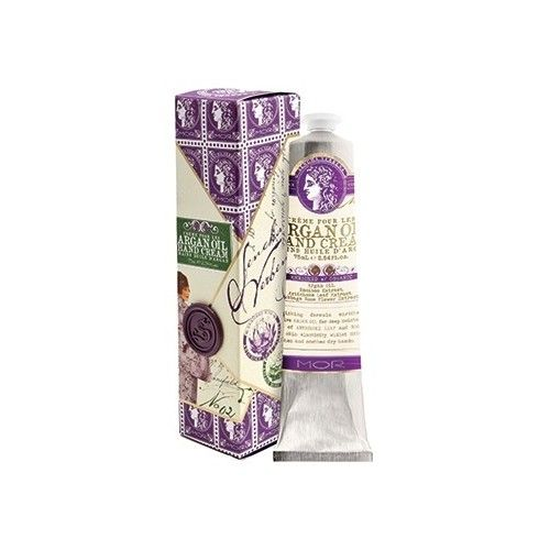 MOR Correspondence Sencha Verbena Argan Oil Hand Cream