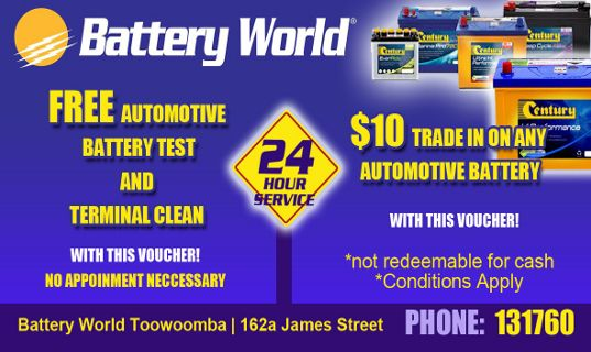 Battery World Toowoomba Special