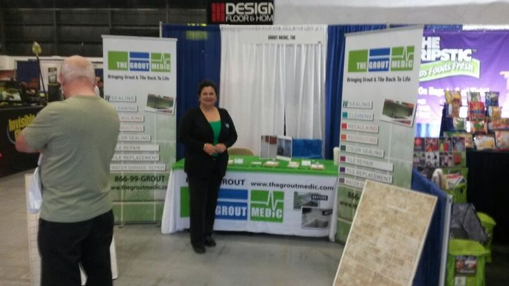 Grout Medic at Palm Beach County Home Show @ South Florida Fairgrounds