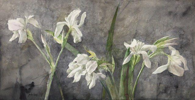 Pedro Cano - Flores en Galería la Aurora