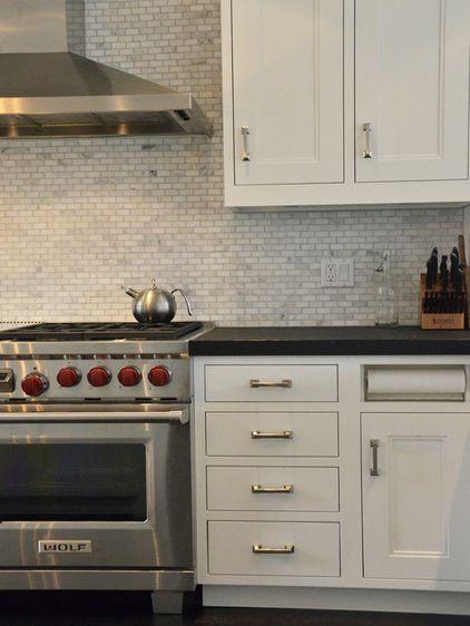 Simplifying Remodeling: Kitchen Details: Out-of-Sight Paper Towel Holder