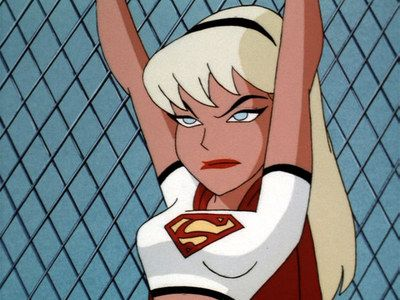 """Supergirl:  """"Justice League Unlimited."""""""