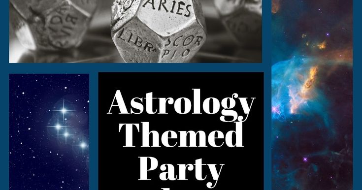 How to Create a Zodiac Sign Themed Party