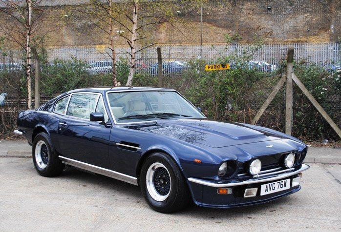 Historics at Brooklands - Specialist Classic and Sports Car Auctioneers - 1981 Aston Martin V8 Vantage