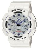 Casio Men's GA100A-7 G-Shock X-Large Analog-Digital White and Blue Sports Watch Reviews - Casio Men's GA100A-7 G-Shock X-Large Analog-Digital White and Blue Sports Watch    Shock resistant, module: 5081, 1/1000 second chronographAuto LED light, world
