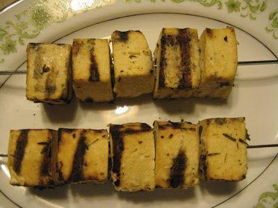 Cottage Meals: Greek Tofu Souvlaki