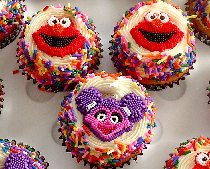Best Abby Cadabby Party Images On Pinterest Sesame Street - Elmo and abby birthday cake