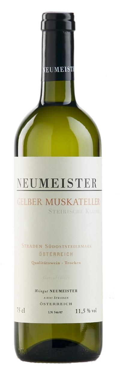 Gelber Muskateller Klassik STK Lage 2011 von Neumeister - Wein Shop