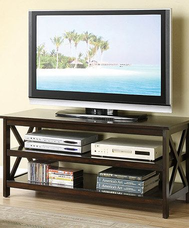 hollywood dcor fiorentino modernstyle twoshelf flat tv stand