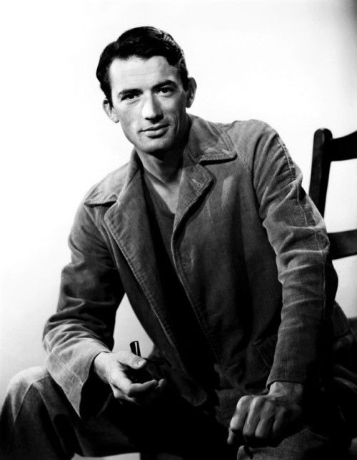 Gregory Peck photographed by Ernest Bachrach, 1945.