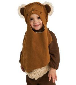 could this ewok costume for your toddler be any cuter perfect for star wars fan halloween - Clone Wars Halloween Costumes