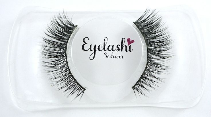 SEDUCER Full winged lashes, perfect for any evening event.
