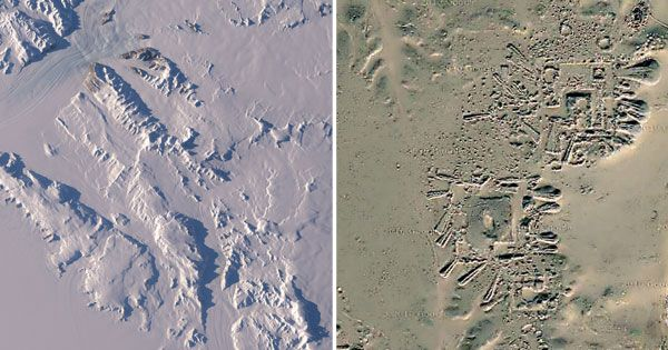 Recently released remote sensing photography of NASA's Operation IceBridge mission in Antarctica led to a fascinating discovery when images revealed what some experts believe could be the existence of a possible ancient human settlement lying beneath an impressive 2.3 kilometers of