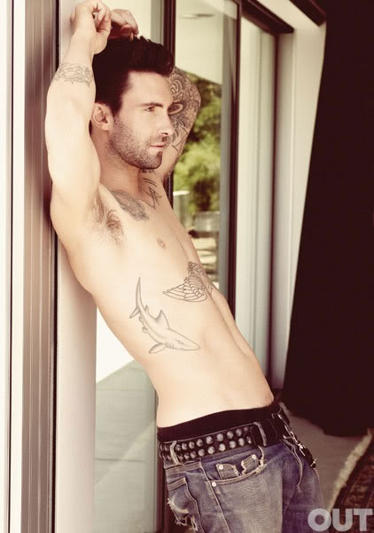 "Adam Levine - this was pinned to someone's ""To Do"" board. I almost put it on my "" yummies"" board. Ha!"