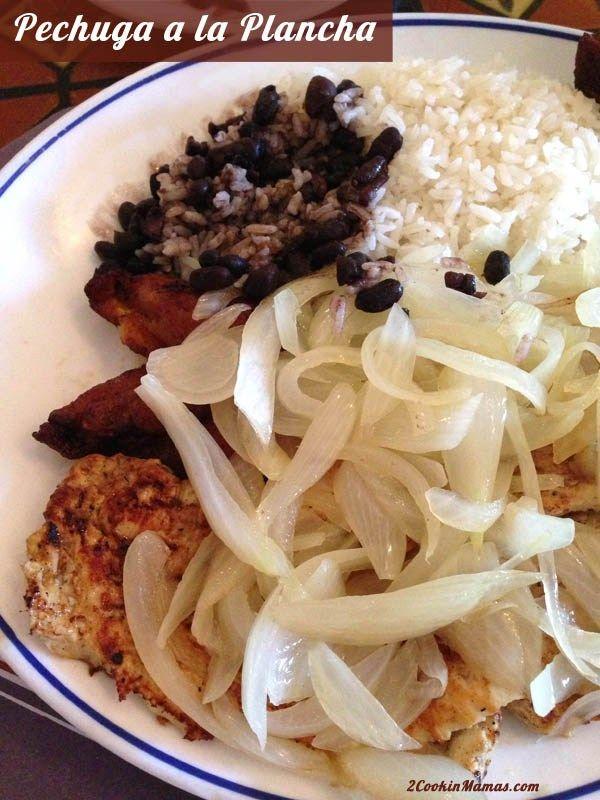 Pechuga a la Plancha - Cuban Chicken | 2CookinMamas