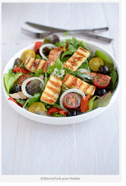 Salade au Grillis de Salakis by Marcia Tack
