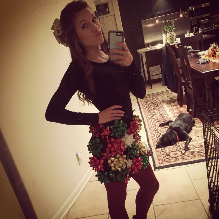 Tacky Christmas outfit