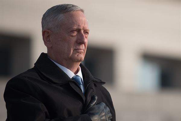 Secretary Mattis told the Senate four external forces are acting on today's military -- What are they?