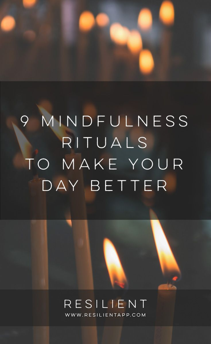 Are you simply moving through your day, without fully living? I did this for many years. It was as if life were just passing by, and I was waiting for something to happen. I always felt like I was preparing for something later. But today isn't preparation for tomorrow. Today is the main event. Here are 9 mindfulness rituals to make your day better.