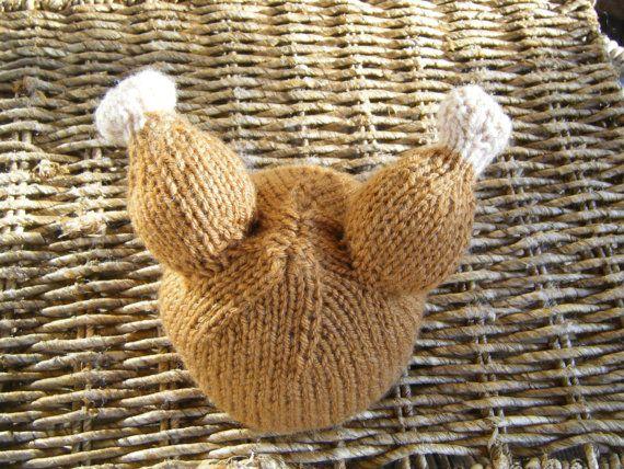 Ready to Ship Hand Knit Baby Turkey Thanksgiving hat size newborn pho?