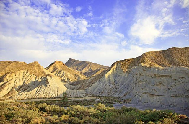 The natural wonders of Andalucia - Desierto de Tabernas