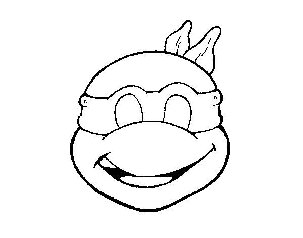 Tiger ninja turtles coloring pages ~ 1080 best images about carnaval-entroido on Pinterest ...
