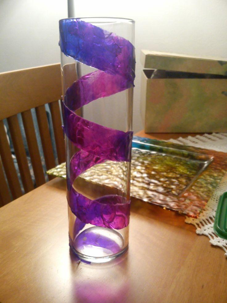 vaso con colorink