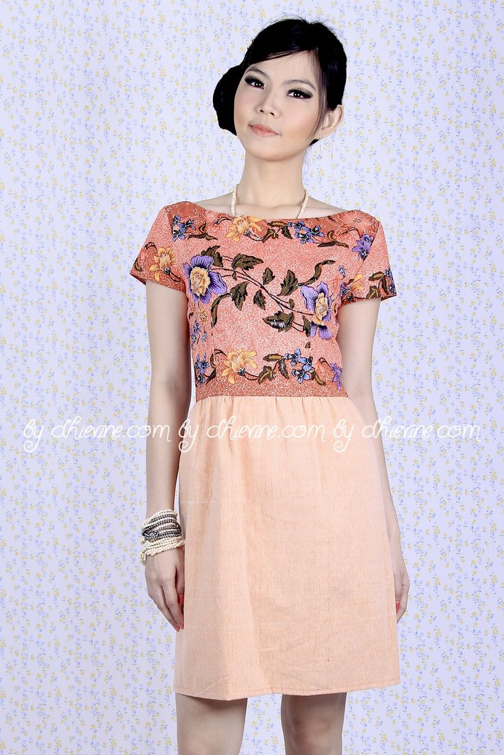 Batik Dress | Lace Dress | Dress Kebaya Magnolia Batik Dress | DhieVine | Redefine You