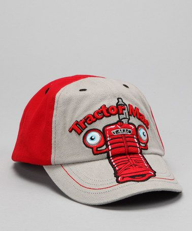 Take a look at this Gray & Red 'Tractor Mac' Baseball Cap by International Harvester on #zulily today!
