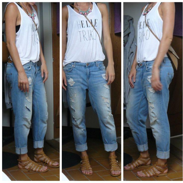 BF Jeans, Boyfriend Jeans, Elle T-Shirt
