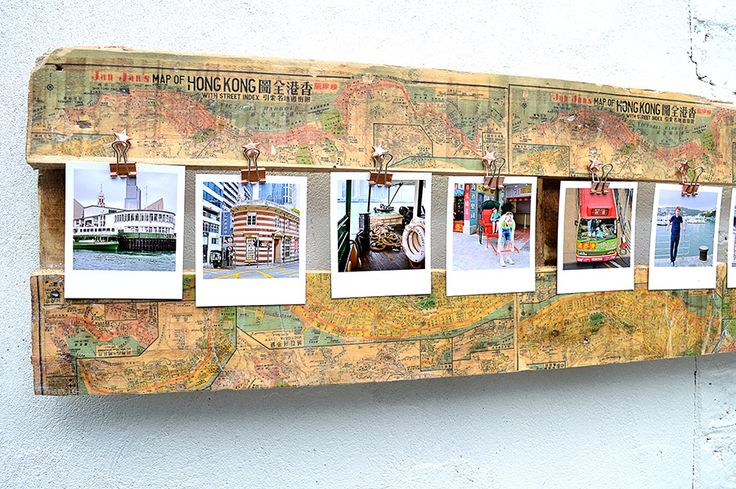 Did you know that you can print maps onto wood? It's really simple to do and to make a unique map picture frame to show off your special holiday snaps.