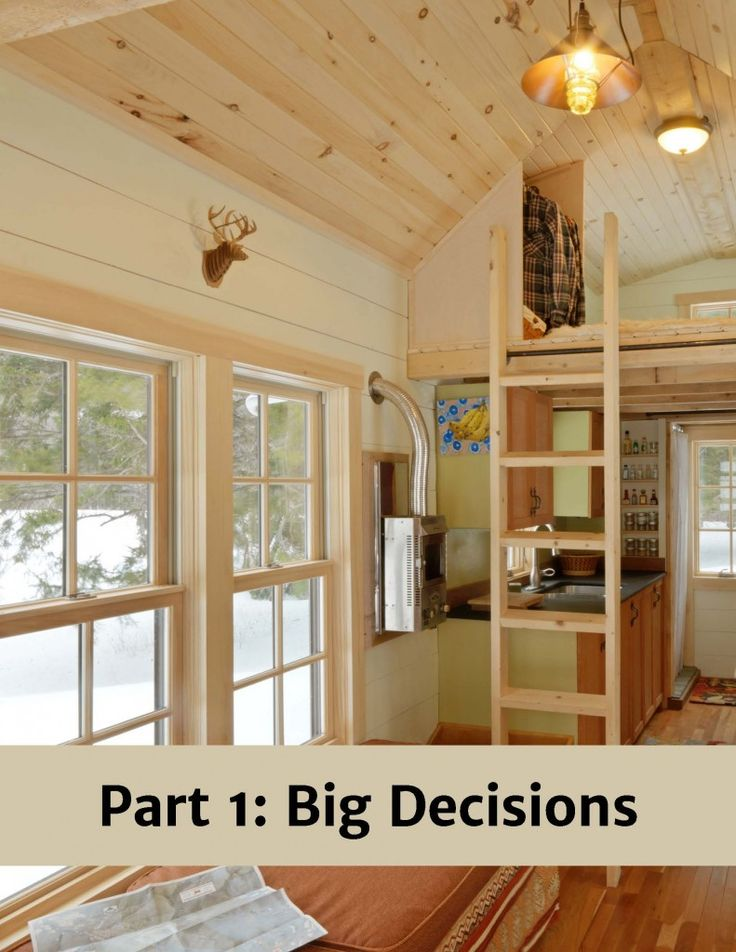 Ebook on the pros and cons of building tiny- education, helpful information.