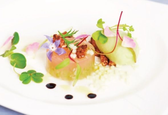 Waldorf Salad - chef Helena Rizzo and Daniel Redondo.