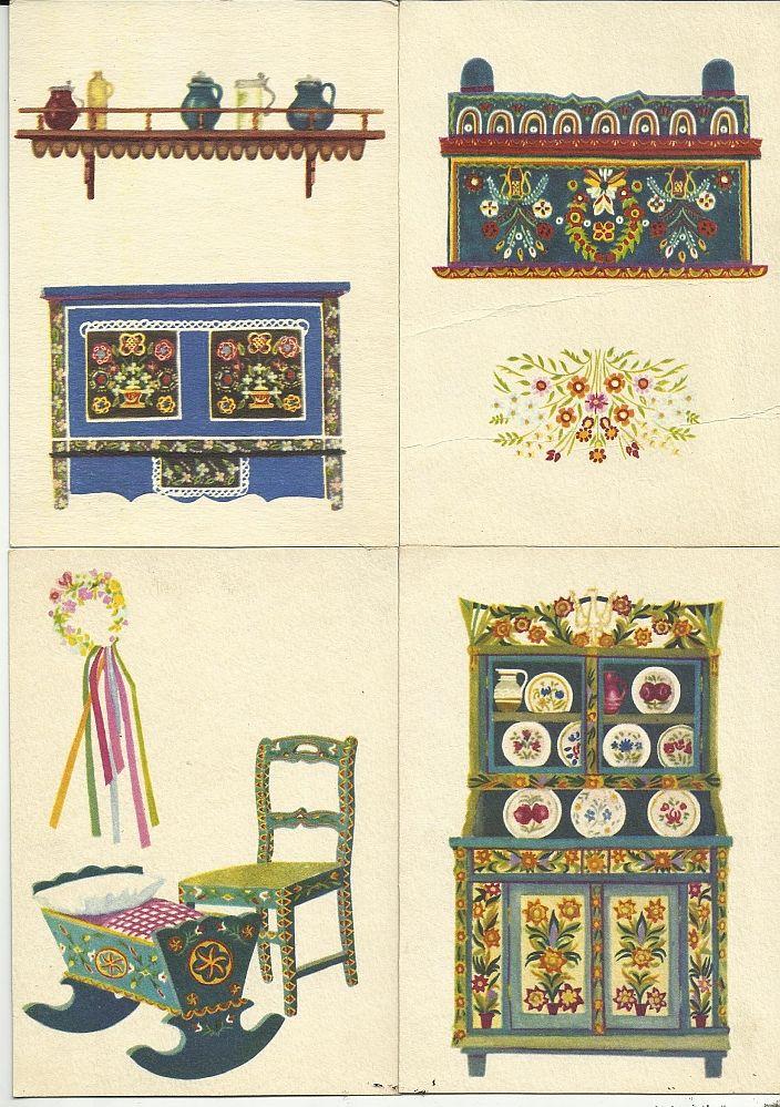 etnografia grafika I. Czarnecka 8 szt RUCH (4588313149) - Allegro.pl - Więcej niż aukcje.