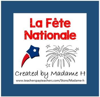 Bastille Day-La Fte Nationale provides students with information and various activities to help differentiate instuction pertaining to France's Independence Day.  Students will have an opportunity to complete a dicte, fill in a venn diagram comparing this event to how their own country celebrates independence, compete to find three separate break the code activities, practice definite articles to find vocabulary words in a word search, as well as producing an individual speaking and writing…