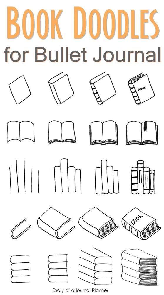 Kostenlose Tutorials für Bullet Journal Kritzeleien, um Ihnen beizubringen, wie man einen B …   – Bright Colors