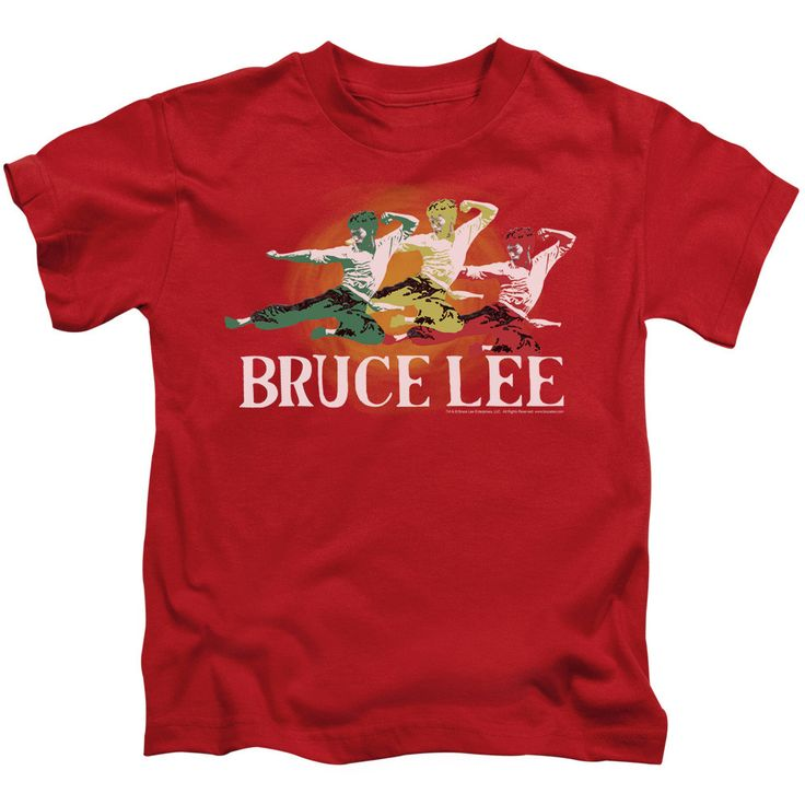 Bruce Lee: Tri Color Juvy T-Shirt