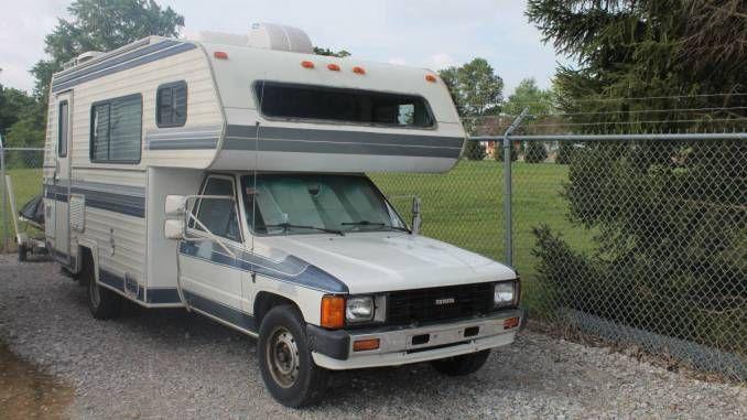 1986 Sun Land Express In Ashland Oh Toyota Motorhome Vintage Camper Class C Rv
