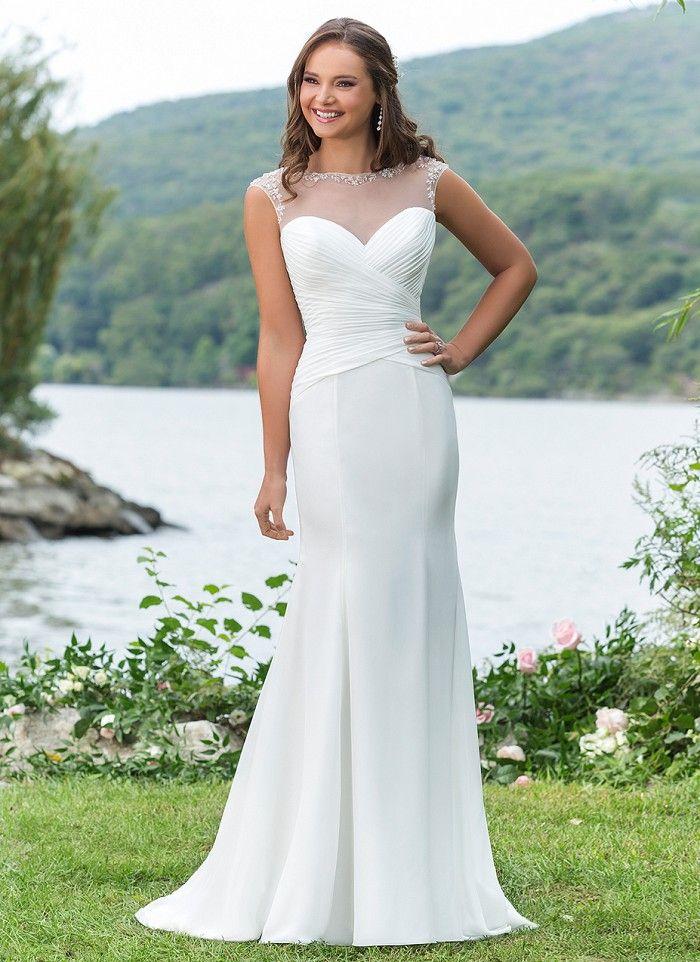 95 best Fem Boards images on Pinterest | Wedding frocks, Short ...