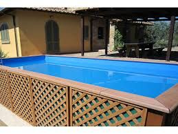 25 best ideas about piscine hors sol on pinterest - Habillage piscine hors sol intex ...