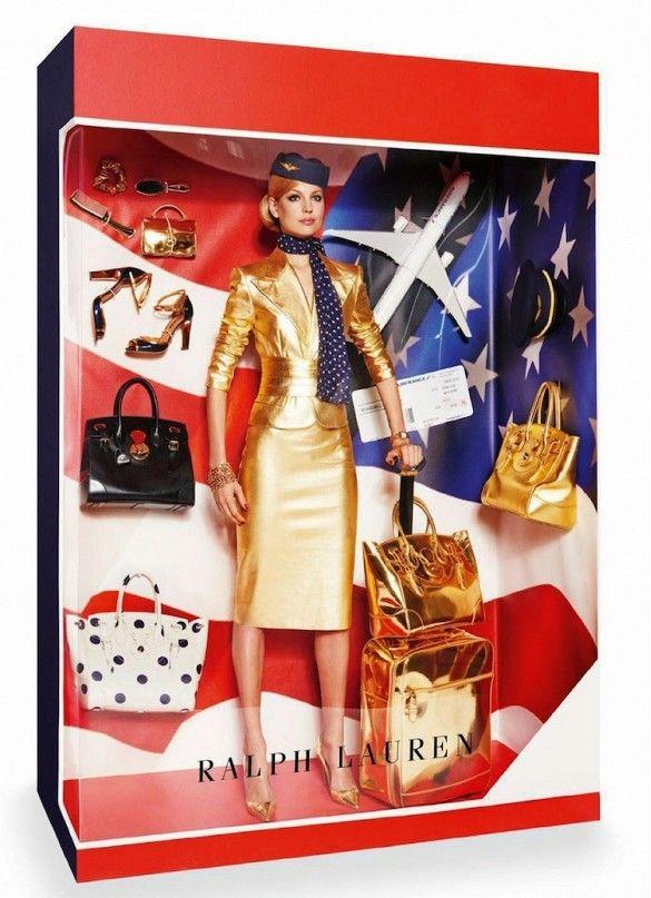Ralph Lauren Barbie doll editorial// Photo by Giampaolo Sgura for Vogue Paris