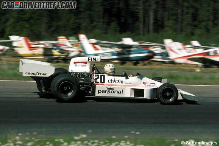 Damien Magee Williams FW03 Swedish Grand Prix