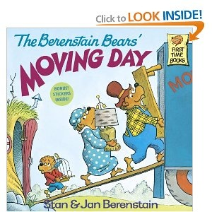 """""""The Berenstain Bears' Moving Day"""" by Stan and Jan Berenstain.  Berenstain Bears books are classics and beloved by children everywhere.  This book is no exception. Perfect for discussions about #moving."""