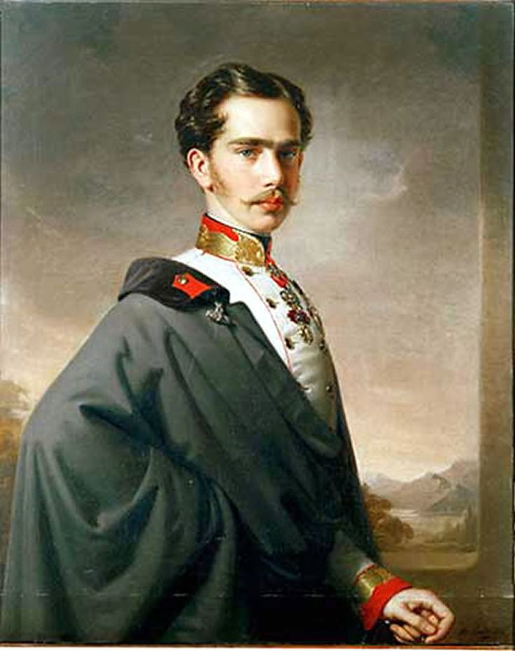 A young Franz Joseph