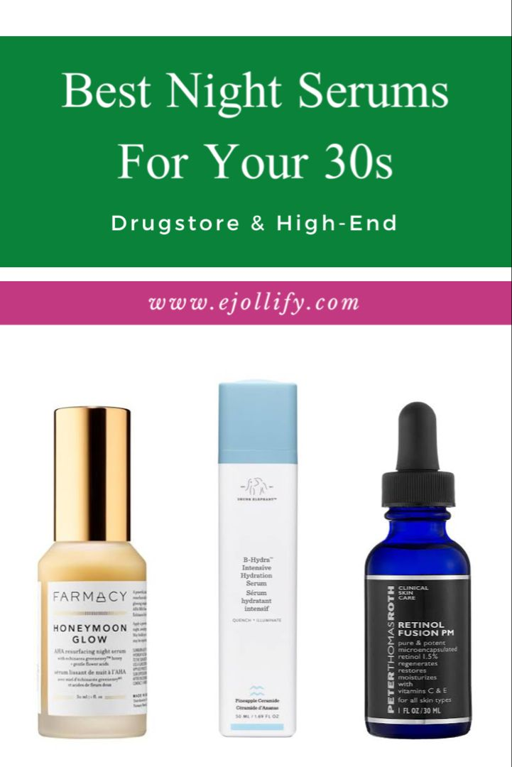10 Best Night Serums For 30s For All Skin Types 2020 Best Night Serum Night Serum Serum For Dry Skin