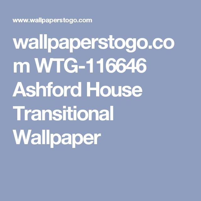 wallpaperstogo.com WTG-116646 Ashford House Transitional Wallpaper