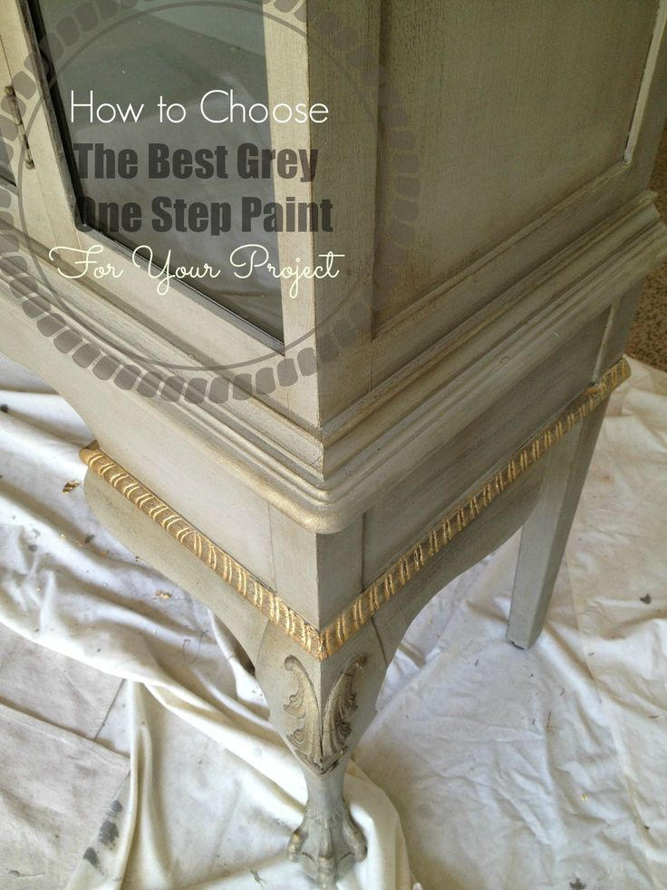 When you need a neutral and are tired of white, you reach for grey, right? I frequently use neutralson my painted furniture, and LOVE grey. I was especially excited when I found out that Amy Howa…